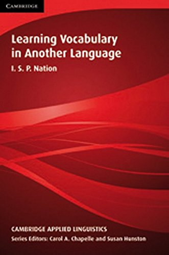 9783125334434: Learning Vocabulary in Another Language