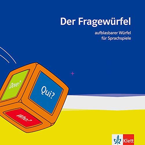 9783125334496: Der Fragewürfel: Aufblasbarer Würfel für Sprachspiele (Deutsch, Englisch, Französisch, Spanisch, Italienisch, Russisch und Latein)