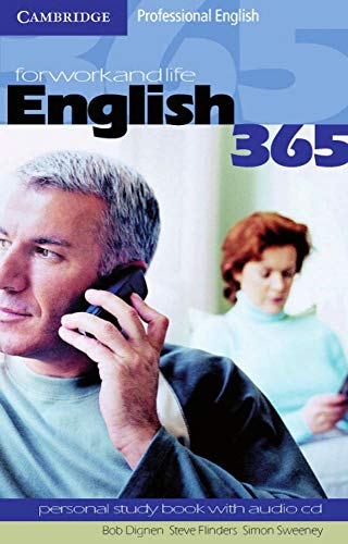 9783125334632: English 365. Bd. 1. Personal Study Book with CD: For Work and Life. Professional English. Pre-Intermediate. A2