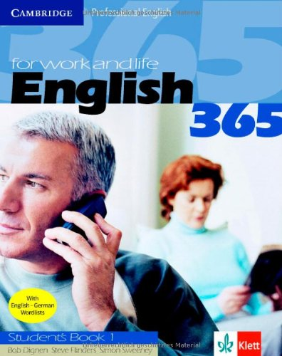 9783125334779: English365 1 Student's Book Klett Version: For Work and Life (Cambridge Professional English)