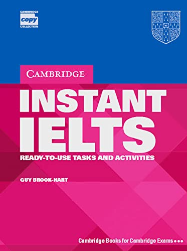 9783125334854: Instant IELTS. Book: Ready-to-use takes and activities