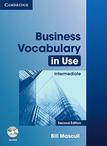9783125335172: Business Vocabulary in Use. second Edition. Intermediate. Book with answers and CD-ROM