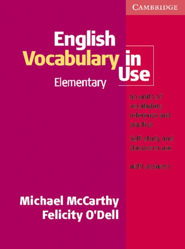 9783125335189: English Vocabulary in Use, elementary, With Answers