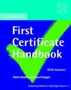 9783125335486: Cambridge First Certificate Handbook, Students' Book with Answers