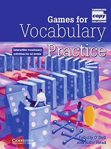 9783125335783: Games for Vocabulary Practice