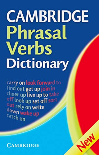 9783125335875: Cambridge International Dictionary of Phrasal Verbs