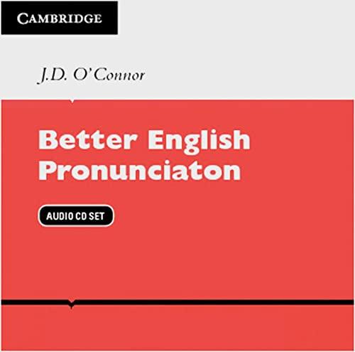 9783125337114: Better English Pronunciation. 2 Audio CDs