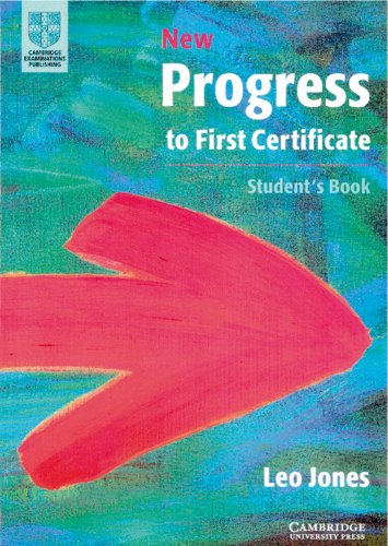 9783125337282: New Progress to First Certificate Student's Book