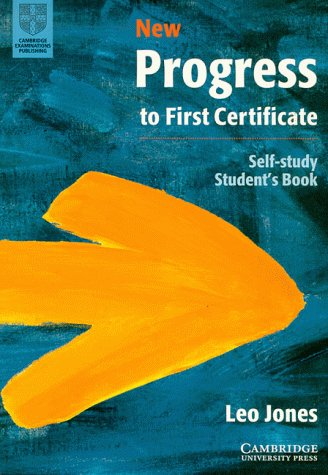9783125337299: New Progress to First Certificate, Cambridge. Self Study Student's Book.