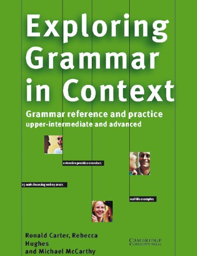 9783125337428: Exploring Grammar in Context. Upper-intermediate and Advanced: Grammar Reference and Practice. Grammatik für Fortgeschrittene. Extensive Practice ... focusing on Key Areas. Real Life Examples