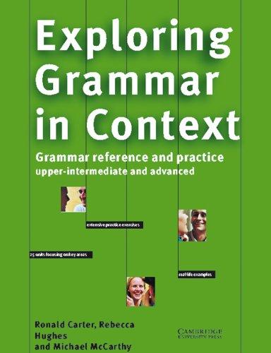 9783125337428: Exploring Grammar in Context. Upper-intermediate and Advanced.