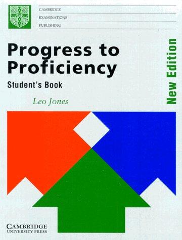 9783125337466: Progress to Proficiency, Student's Book