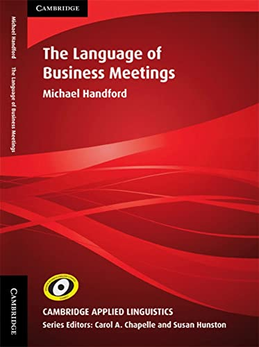 9783125338678: The Language of Business Meetings