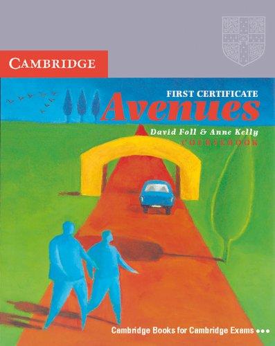9783125339118: First Certificate Avenues, Rev. ed., Coursebook