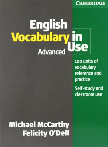 9783125340404: English Vocabulary in Use. Advanced