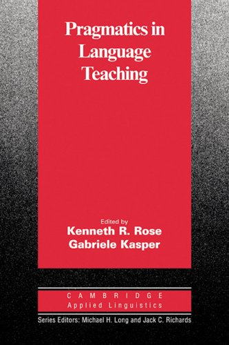 9783125340527: Pragmatics in Language Teaching
