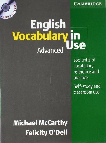 9783125340770: English Vocabulary in Use. Advanced. Book and CD-ROM