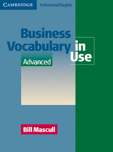 9783125340886: Business Vocabulary in Use. Advanced