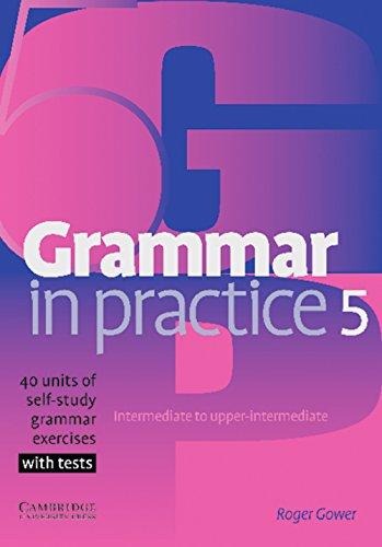 9783125341029: Grammar in Practice 5