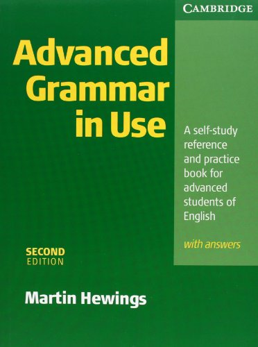 9783125341340: Advanced Grammar in Use. With Answers: A self-study reference and practice book for advanced students of English