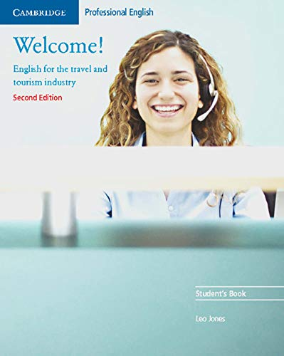 Welcome! Student's Book (3125341361) by Leo Jones