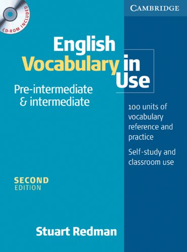 9783125341838: English Vocabulary in Use. Pre-intermediate and intermediate. Book and CD-ROM Pack