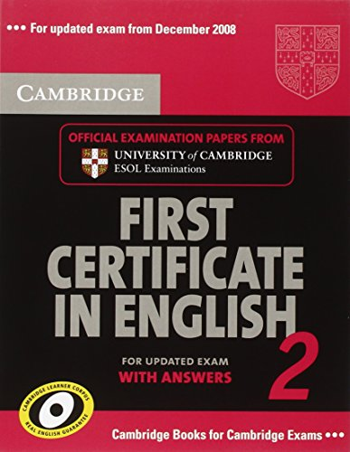 9783125342477: Cambridge First Certificate in English 2. Student's Book with answers