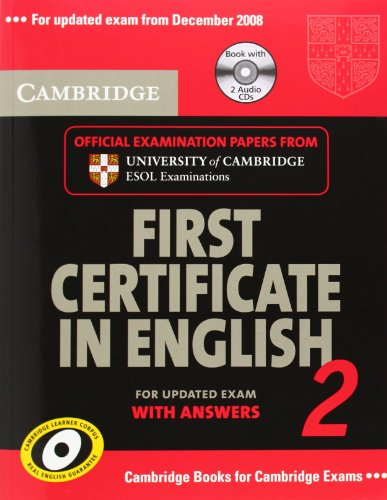 9783125342491: Cambridge First Certificate in English 2. Self-study Pack: Student's Book with answers