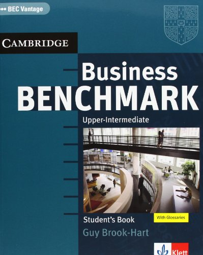 9783125343139: Business Benchmark. BEC Vantage. Student's Book: Upper-intermediate