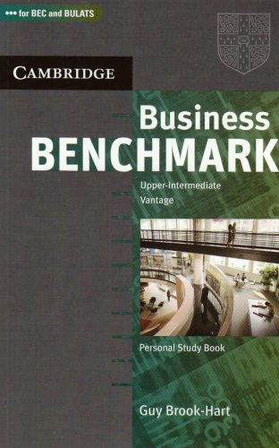 9783125343191: Business Benchmark. Upper-intermediate. Personal Study Book: Vantage