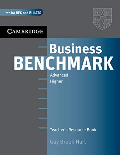 9783125343238: Business Benchmark. C1. BEC and BULATS. Higher Edition. Teacher's Resource Book