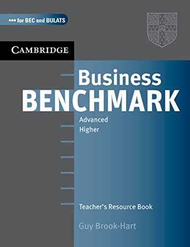 9783125343238: Business Benchmark. C1. BEC and BULATS. Higher Edition. Teacher's Resource Book
