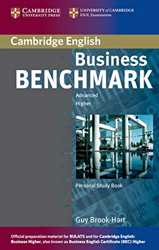 9783125343283: Business Benchmark. Personal Study Book