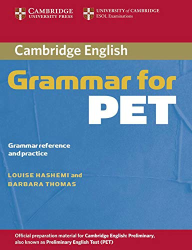 9783125343344: Cambridge Grammar for PET. Book without answers