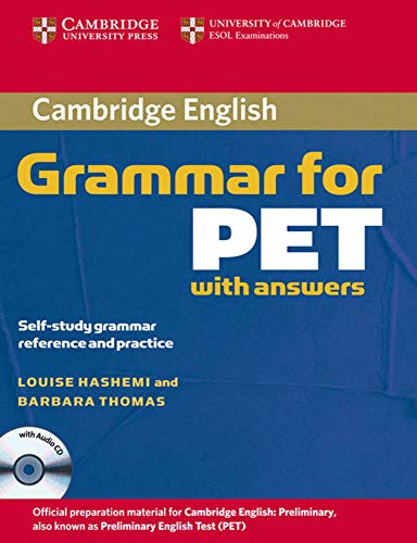 9783125343351: Cambridge Grammar for PET. Book with answers and Audio CD: Lower-Intermediate, Self-study grammar reference and practice