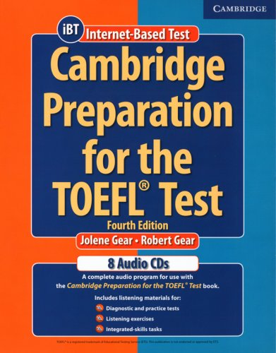 9783125343696: Cambridge Preparation for the TOEFL Test. 4 CDs: An extensive listening programm!