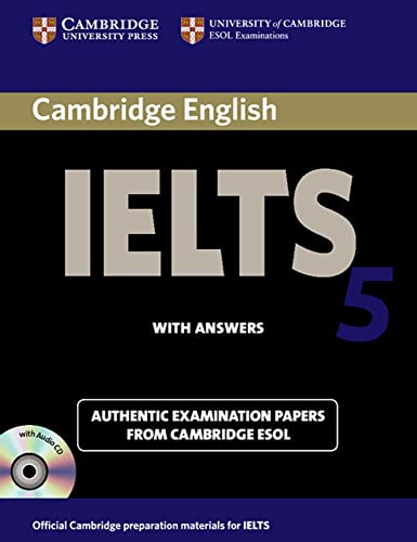 9783125344075: Cambridge IELTS 5. Self-study Pack ( Student's Book with answers +2 Audio CDs)