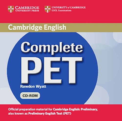 9783125344532: Complete PET. Student's Book Pack: (Book with CD-ROM ans Audio-CDs)