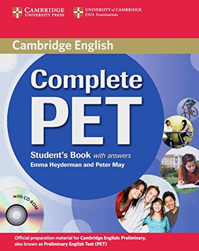 9783125344549: Complete PET. Student's Book with answers and CD-ROM