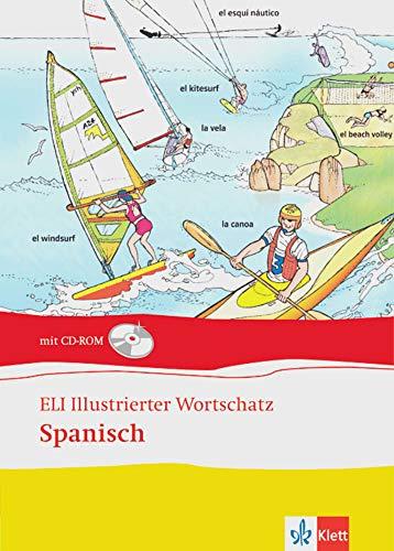 9783125344648: ELI illustrierter Wortschatz. Spanisch. Buch und CD-ROM