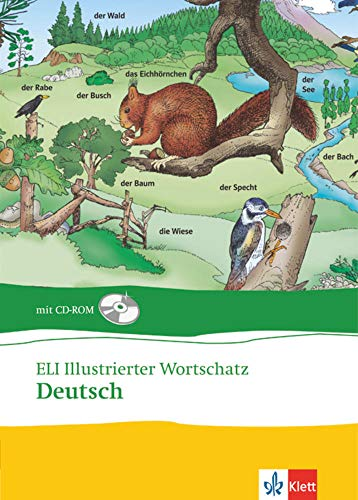9783125344686: ELI illustrierter Wortschatz. Deutsch. Buch und CD-ROM