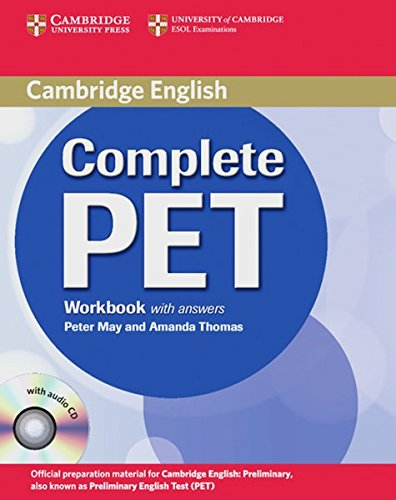 9783125344778: Complete PET/Workbook w. anwers a. CD