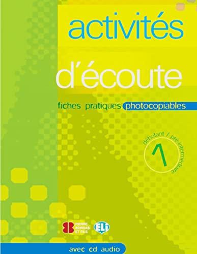 9783125345157: Activités d'écoute, m. Audio-CD. Bd.1
