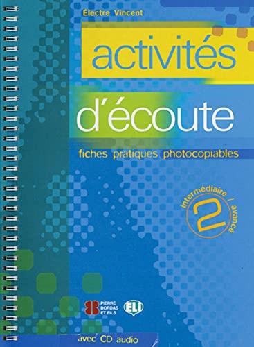 9783125345164: activités d'écoute 02: CD + Kopiervorlagen. Buch mit Kopiervorlagen + Audio-CD
