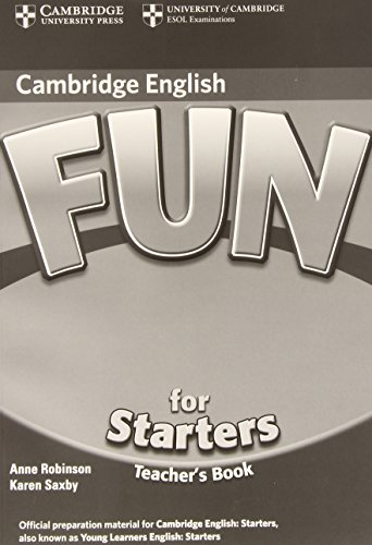 9783125345171: Fun for Starters - Second Edition. Teacher's Book