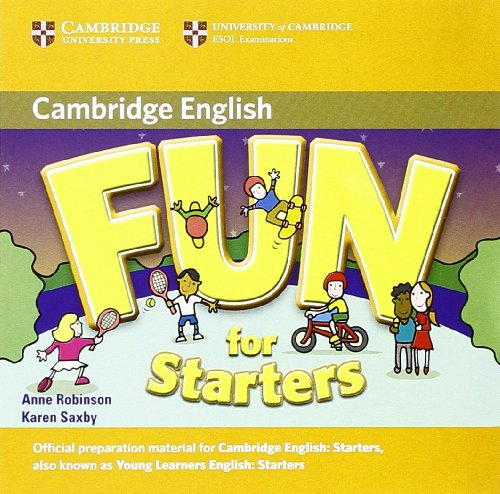 9783125345195: Fun for Starters - Second Edition. Audio-CD