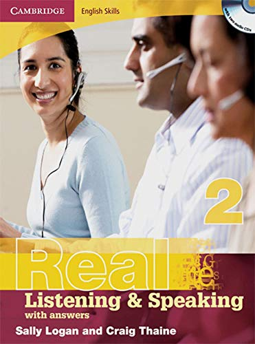 9783125345270: Real Listening & Speaking 2. Edition with answers and Audio CD: Cambridge English Skills Level 2