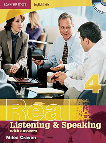 9783125345430: Real Listening & Speaking 4. Edition with answers and 2 CDs: Cambridge English Skills Level 4