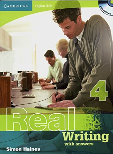 9783125345478: Real Writing 4. Edition with answers and Audio CD: Cambridge English Skills Level 4