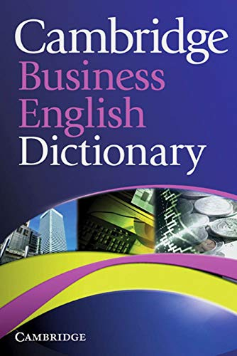 9783125345546: Cambridge Business English Dictionary